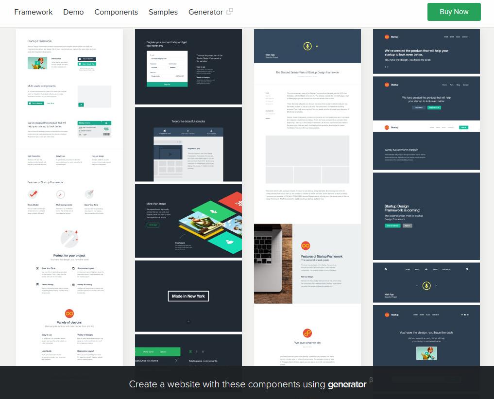 Designmodo Startup Web Design Framework