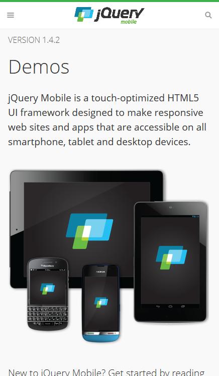 jQuery-Mobile-Demos