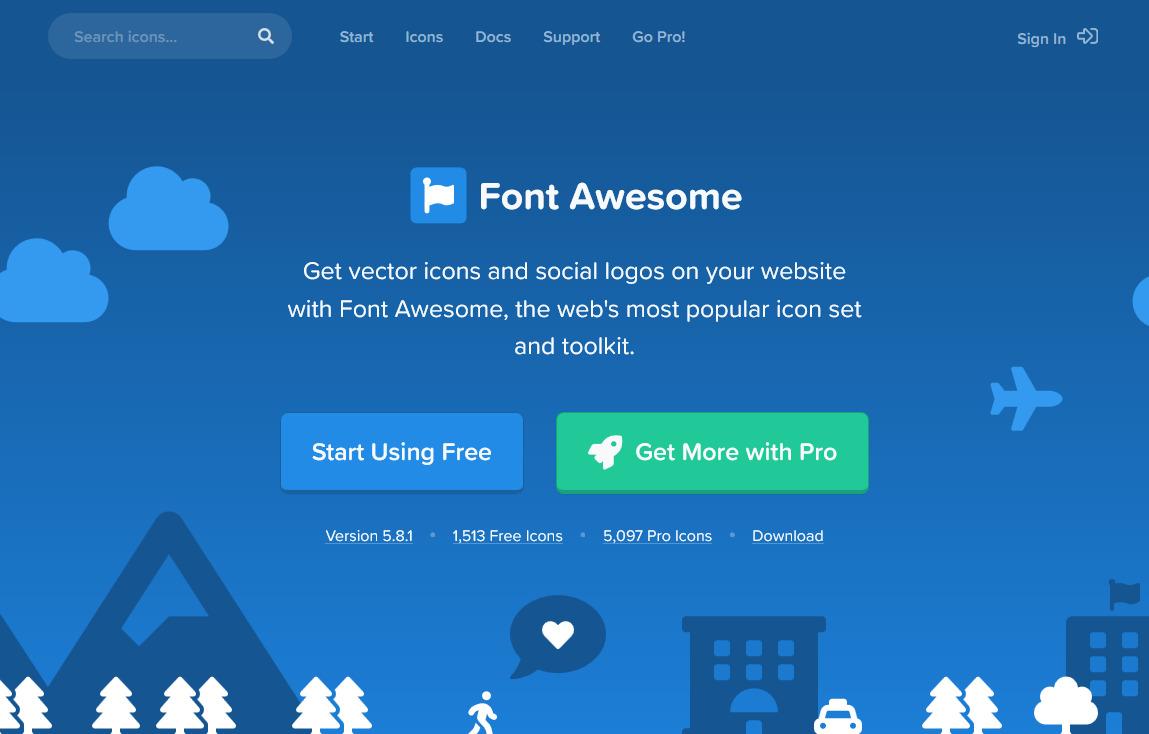 HTML】Font Awesome 5 をWEBサイトに組み込む方法 | 静岡県藤枝